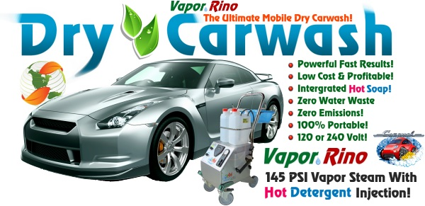 Mobile Automotive Detail Equipment. Dry Car Wash, Interior Detailing And  More. Steam Cleaners WORK!